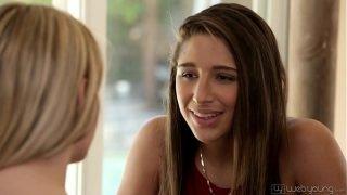 Kenna James and Abella Danger Teen Lesbian Couple