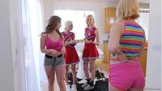 Lesbian cheerleaders make special cookies – Eliza Jane, Lena Paul