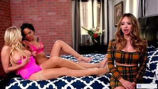 Your Step Daughter watching us by Katie Morgan Quinn Wilde and Honey Gold